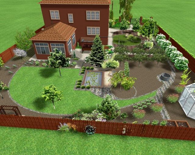 Планировка садового участка своими руками фото 129